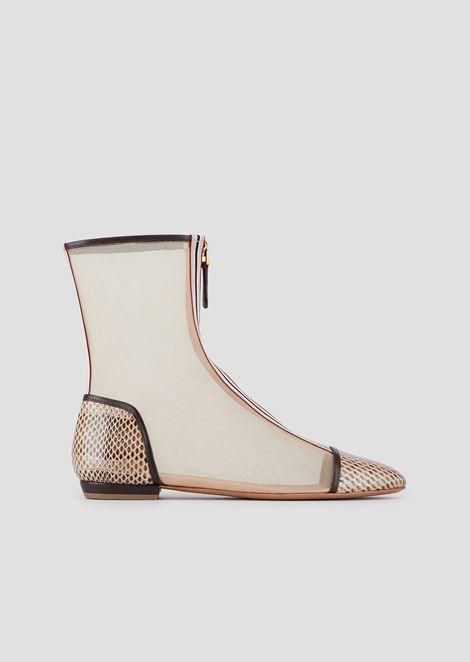 EMPORIO ARMANI Ankle Boots Woman f