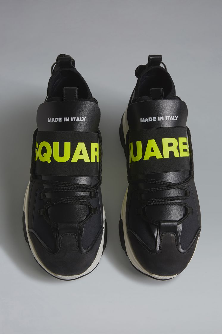 DSQUARED2 Acid Glam Punk D-Bumpy One Sneakers Sneaker Man