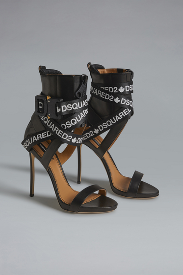 DSQUARED2 High-heeled sandals Woman HSW011016801684M313 m
