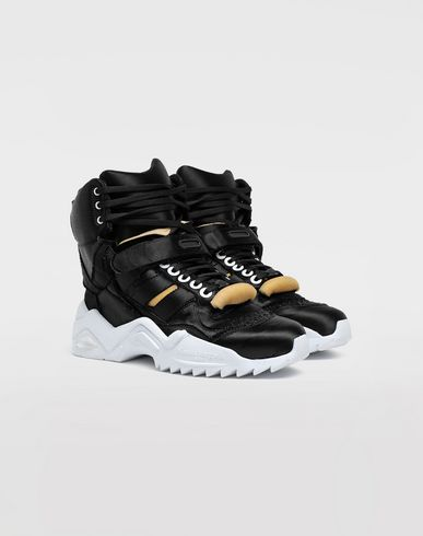 SHOES Retro Fit satin sneakers Black