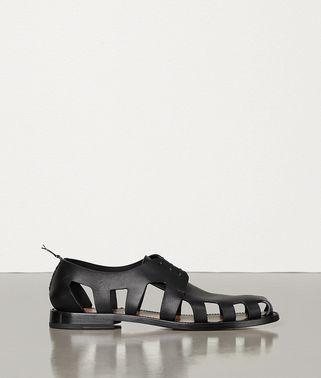 防水皮革系带鞋