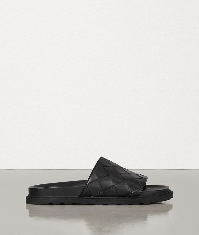 BOTTEGA VENETA SLIDES IN INTRECCIATO CALF Sandals Man fp