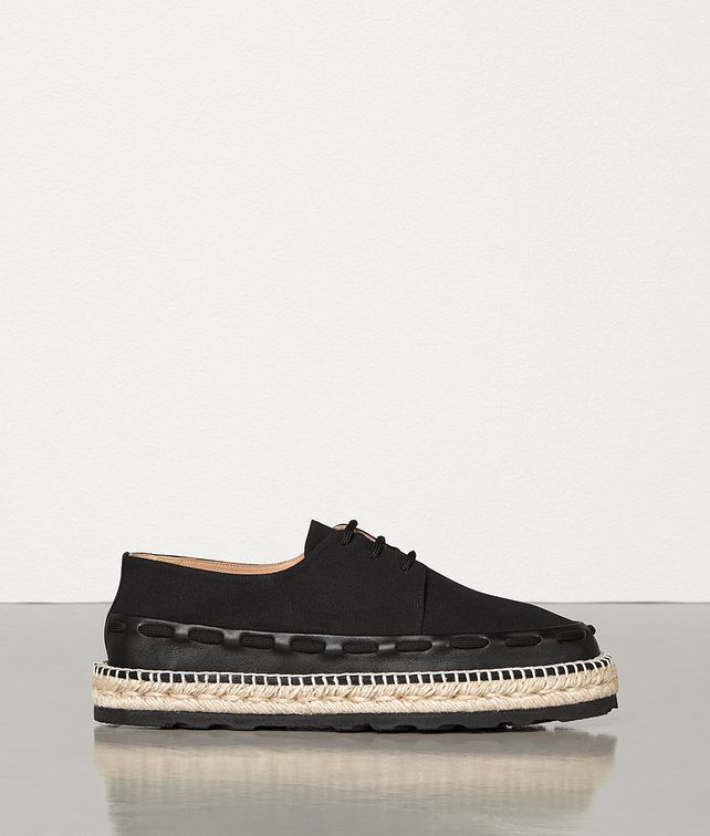 BOTTEGA VENETA ESPADRILLES IN CANVAS AND CALFSKIN Espadrilles Man fp