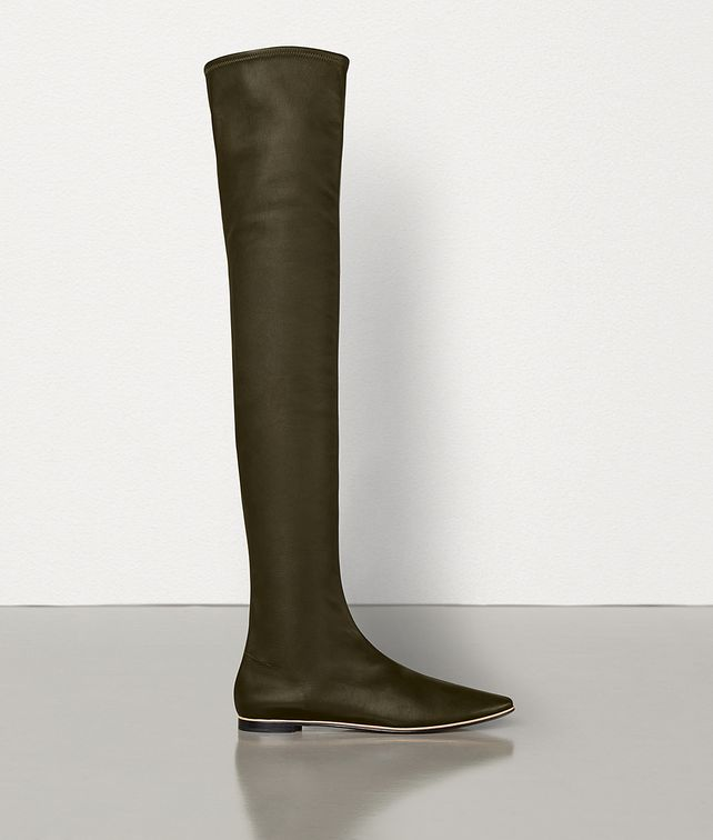 BOTTEGA VENETA ALMOND TOE BOOTS IN NAPPA DREAM Boots Woman fp
