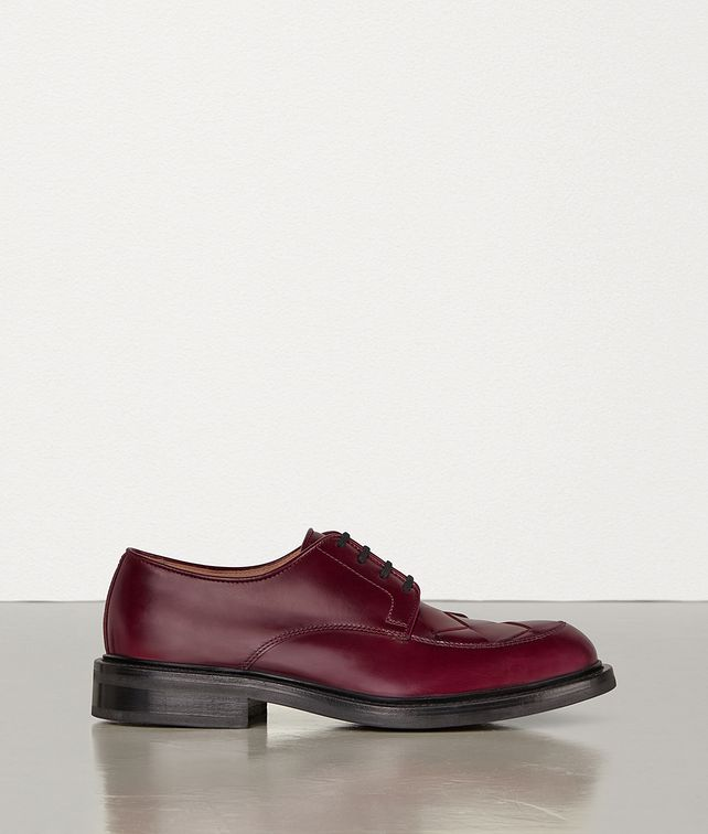 BOTTEGA VENETA LACE-UP SHOES IN INTRECCIATO CALF Lace Ups Man fp