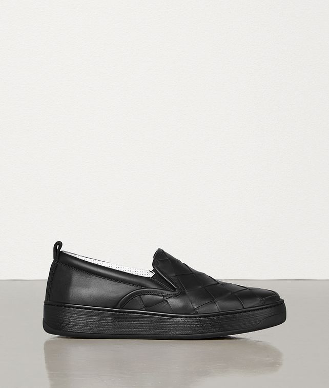 BOTTEGA VENETA TRAINERS IN MAXI INTRECCIO CALF LEATHER Trainers Man fp