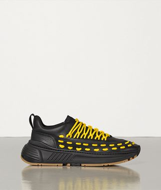 LACE SPEEDSTER SNEAKERS IN STORM CUIR