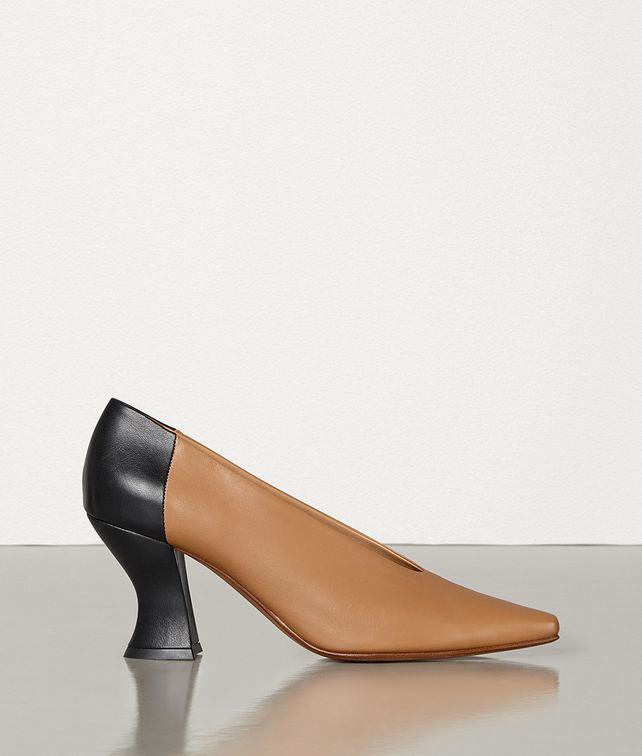BOTTEGA VENETA ALMOND PUMPS IN NAPPA DREAM Pump Woman fp