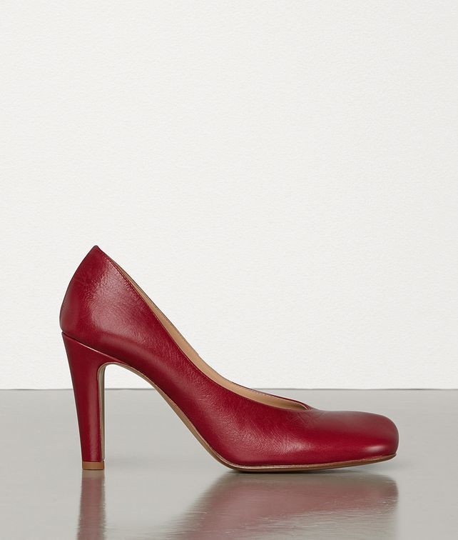 BOTTEGA VENETA BLOC PUMPS IN LAVILLE CALFSKIN Pump Woman fp