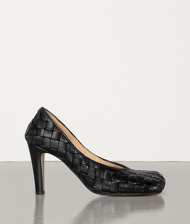 BOTTEGA VENETA BLOC PUMPS IN STUOIA NAPPA Pump Woman fp