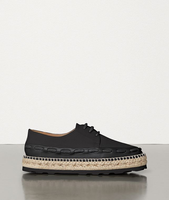 BOTTEGA VENETA ESPADRILLES IN CANVAS AND CALFSKIN Espadrilles [*** pickupInStoreShipping_info ***] fp