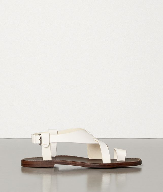 BOTTEGA VENETA SANDALS IN STORM CUIR Sandals Woman fp