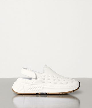 BACKSTRAP LACE SPEEDSTER SNEAKERS IN STORM CUIR