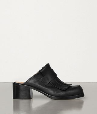 LOAFERS IN BERRY CALF