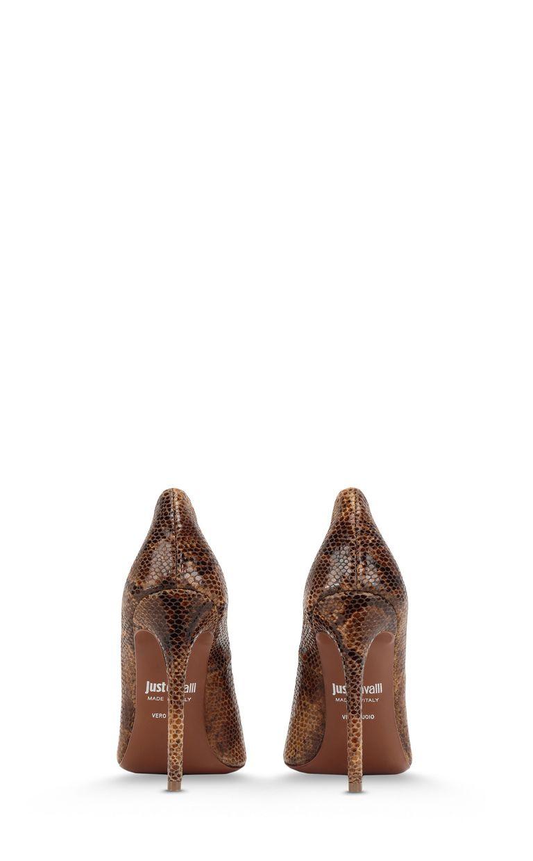 JUST CAVALLI Python-patterned court shoe Pump Woman d