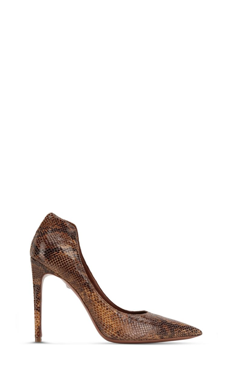 JUST CAVALLI Python-patterned court shoe Pump Woman f