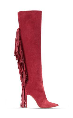 JUST CAVALLI Pump Woman Court shoe with fringing f