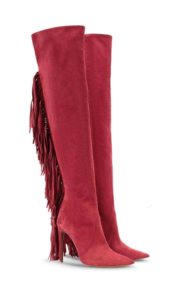 JUST CAVALLI Boot with fringing Boots Woman r