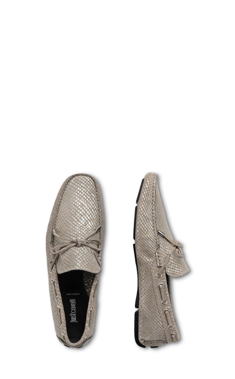 JUST CAVALLI Loafer in suede Moccassins Man d