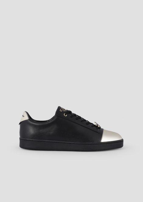 6bfca1558 Low-cut sneakers with plexiglass patch