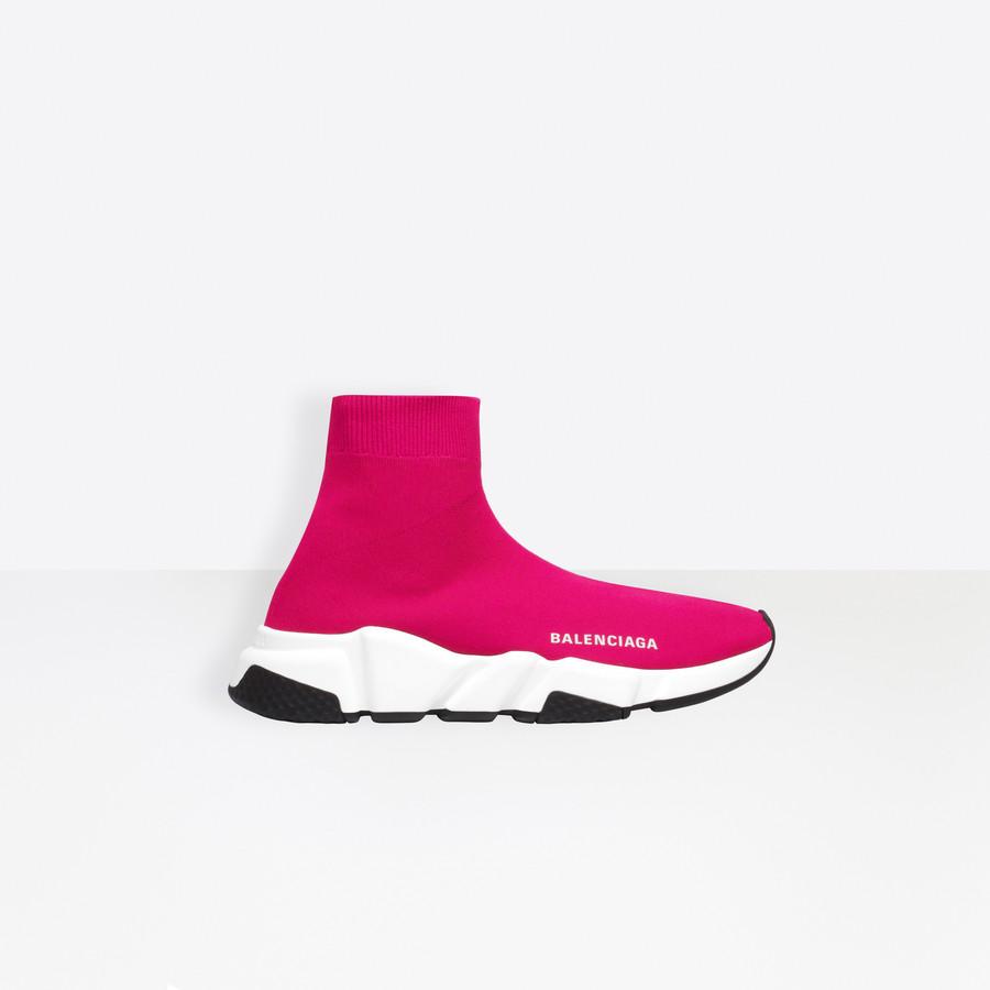 Speed Sneaker Pink for Women | Balenciaga