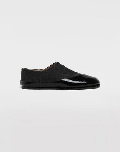 MAISON MARGIELA Chaussures slip-on Tabi finition lamée Mocassins [*** pickupInStoreShippingNotGuaranteed_info ***] f