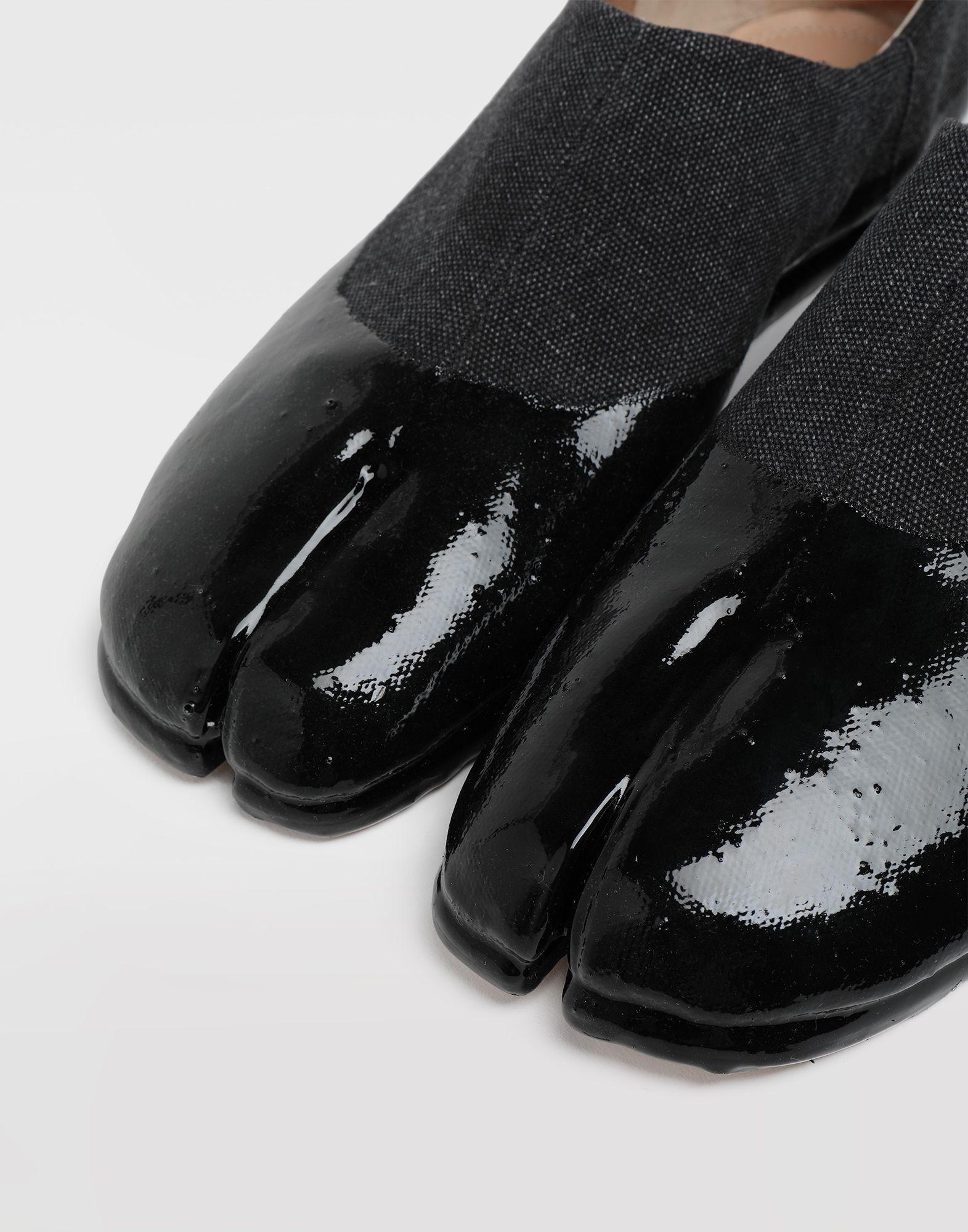 MAISON MARGIELA Chaussures slip-on Tabi finition lamée Mocassins Homme a