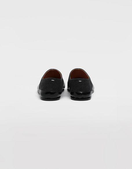 MAISON MARGIELA Chaussures slip-on Tabi finition lamée Mocassins Homme e