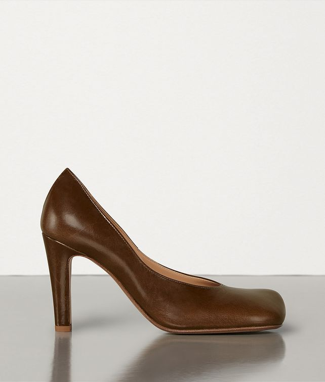 BOTTEGA VENETA BLOC PUMPS IN LAVILLE CALF Pump Woman fp
