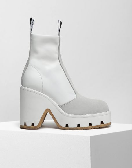 MM6 MAISON MARGIELA Textured ankle boots Ankle boots Woman f