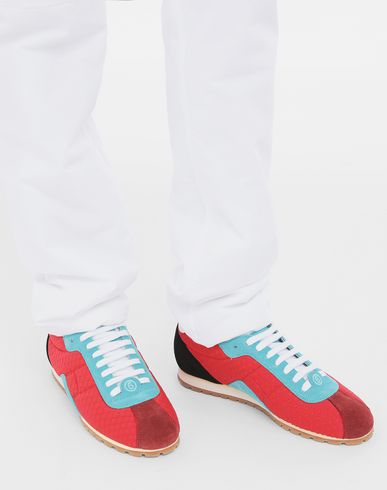 SHOES Pull-tab sneakers Red