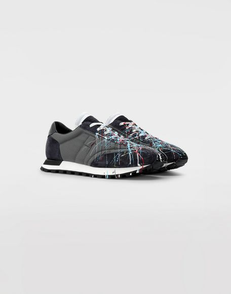 MAISON MARGIELA Replica 'Paint drop' runners Sneakers Man d