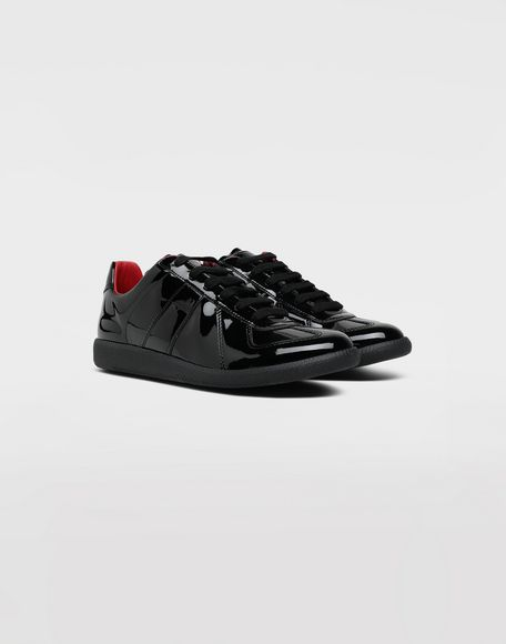 MAISON MARGIELA Replica patent leather sneakers Sneakers Man d
