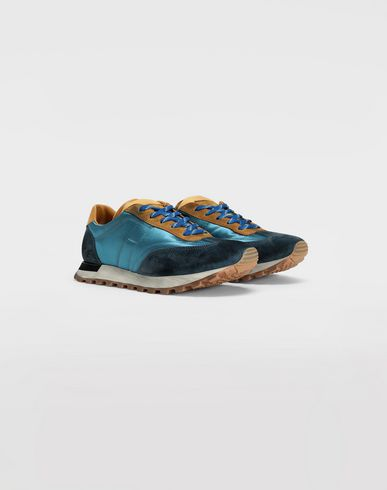 SHOES Colour block runners Azure