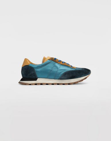 SHOES Color block runners Azure