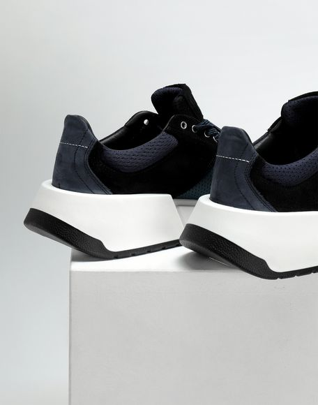 MM6 MAISON MARGIELA Colour block leather sneakers Sneakers Woman b