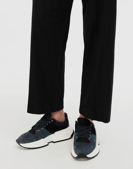 MM6 MAISON MARGIELA Colour-Blocking Sneakers aus Leder Sneakers Dame r