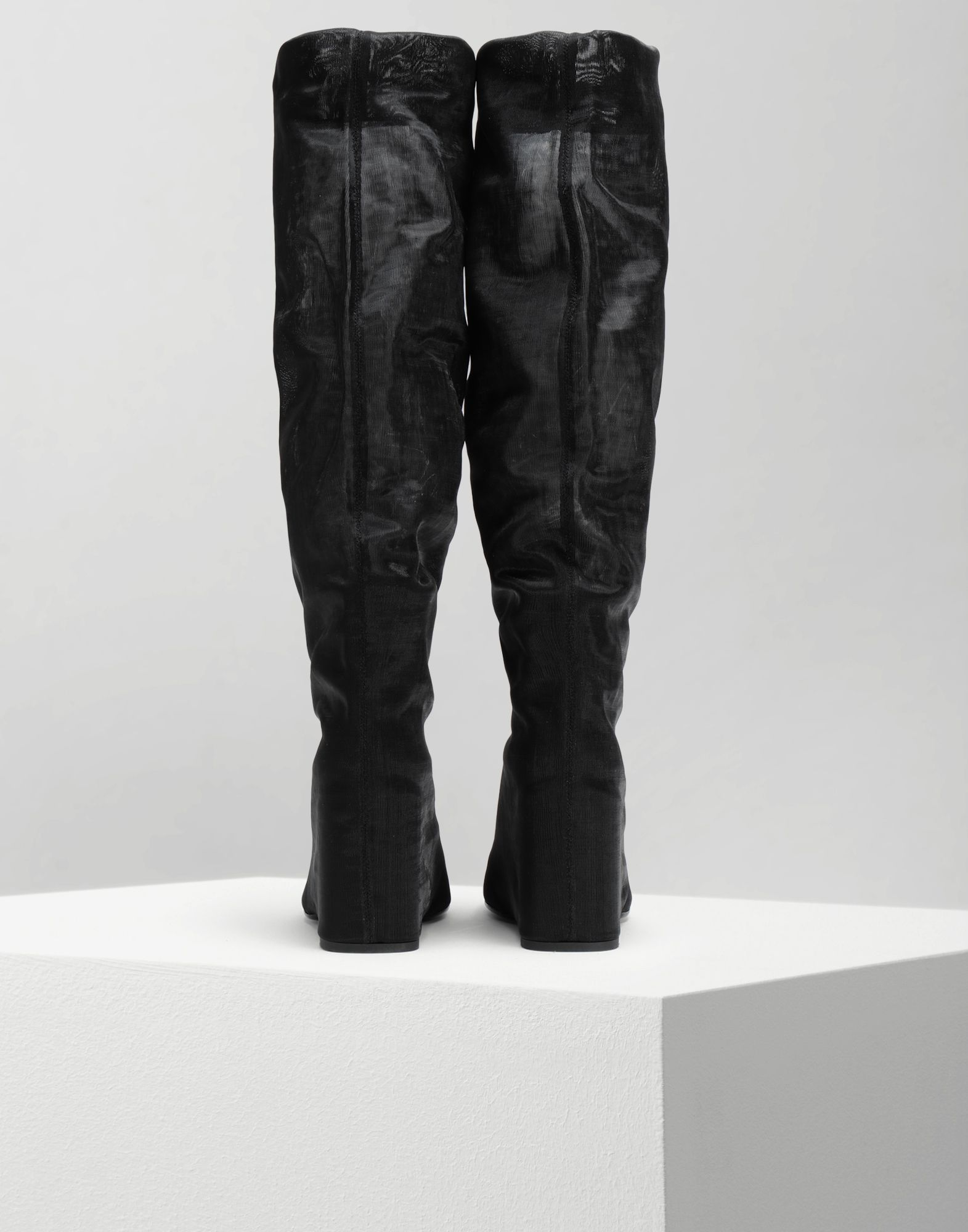 MM6 MAISON MARGIELA Covered knee-high boots Boots Woman e
