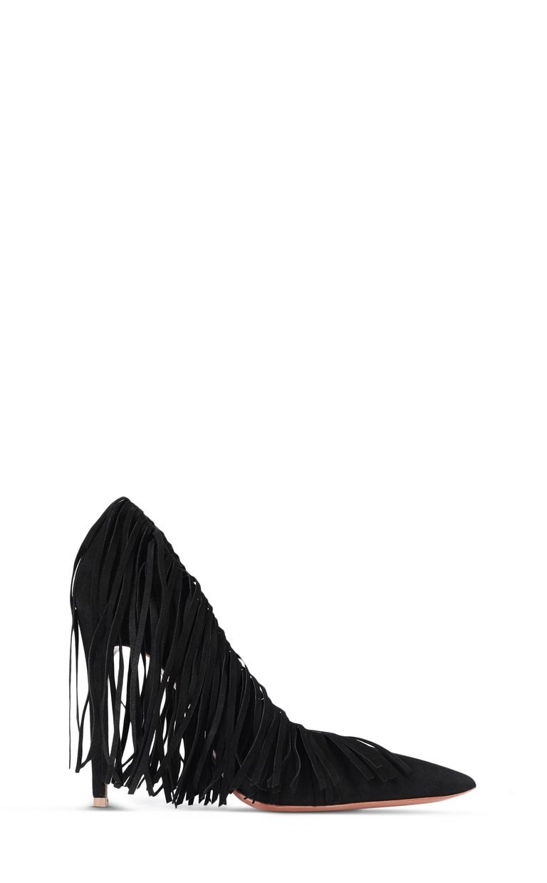 JUST CAVALLI Court shoe with fringing Pump Woman f