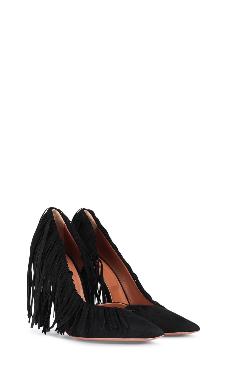 JUST CAVALLI Court shoe with fringing Pump Woman r