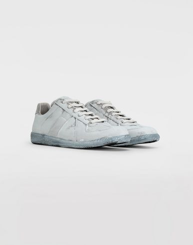 SHOES Replica suede sneakers Light grey