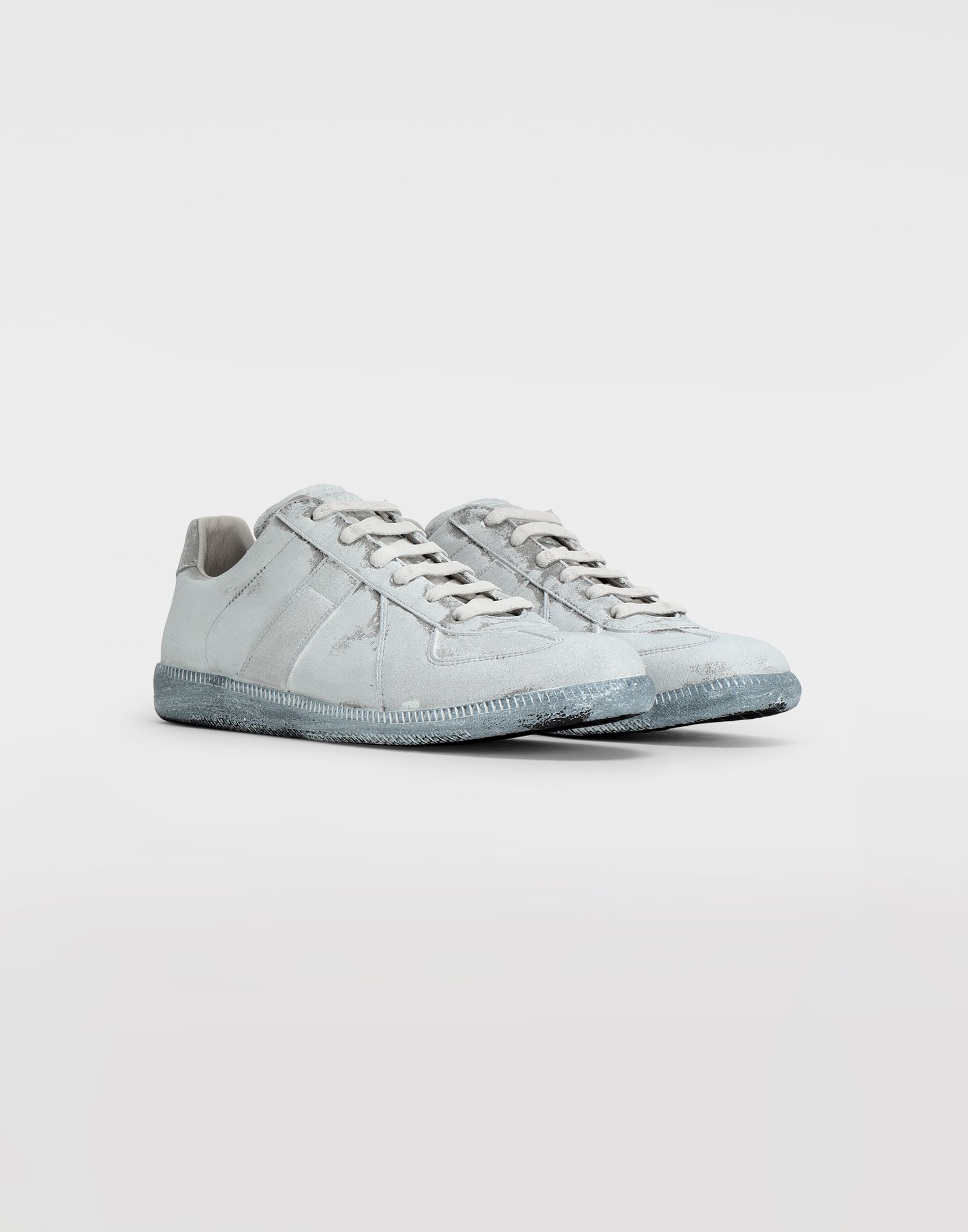 MAISON MARGIELA Replica suede sneakers Sneakers Man d