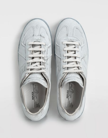 MAISON MARGIELA Replica suede sneakers Sneakers Man e