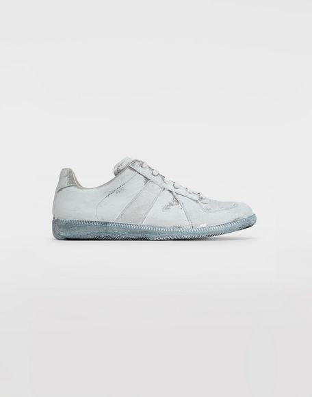 MAISON MARGIELA Replica suede sneakers Sneakers Man f