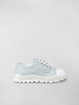 Marni Calfskin lace-up with contrast toe Man