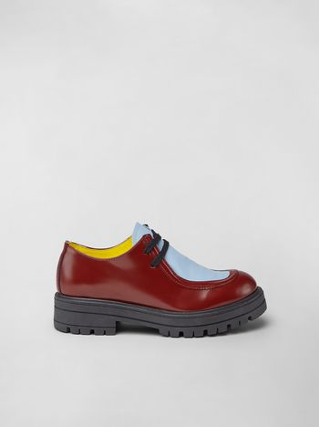Marni Two-tone calfskin Derby Woman f