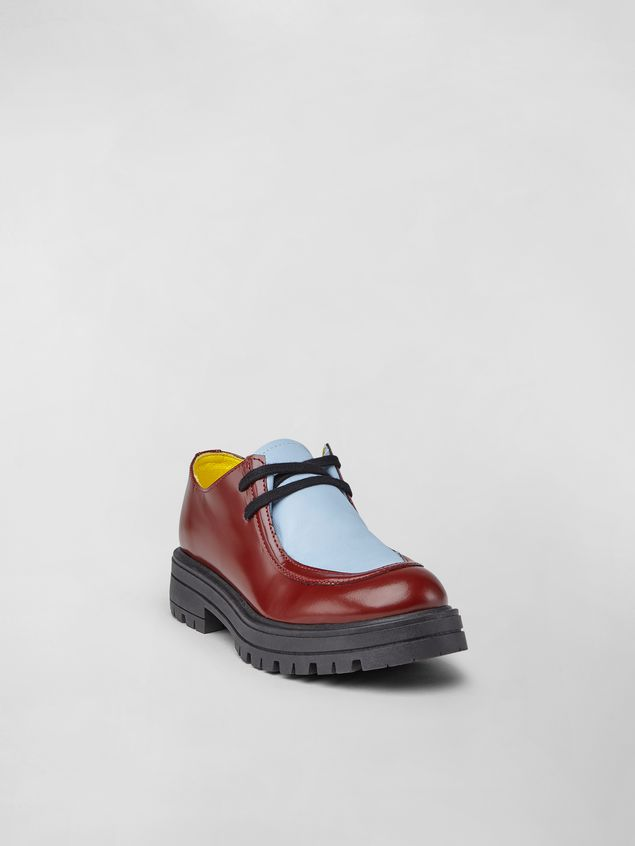 Marni Two-tone calfskin Derby Woman - 2