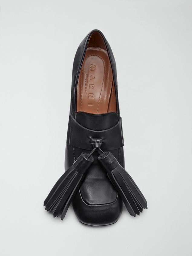 Marni Moccasin in soft nappa lambskin Woman - 4