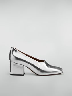 Marni Rising upper pump in laminated goatskin  Woman