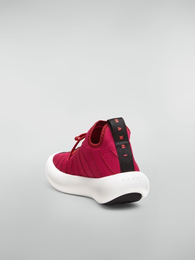 Marni BANANA Marni sneaker in techno fabric  Woman